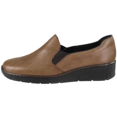 ceecf9d44 Soňa - Dámska obuv - Poltopánky - Hnedá dámska členková obuv značky Rieker