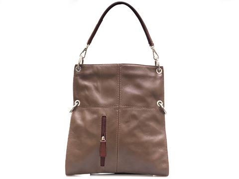 8665f354ce16 Soňa - Dámska - Dámske kabelky - Hnedá dámska kabelka cez plece