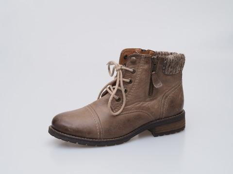 f85a9e49f914 Soňa - Dámska obuv - Kotníčky - Hnedá dámska šnurovacia obuv