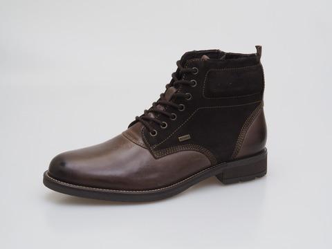1bb0c7751496 Soňa - Pánska obuv - Zimná - Hnedá pánska šnurovacia obuv zateplená značky  Klondike