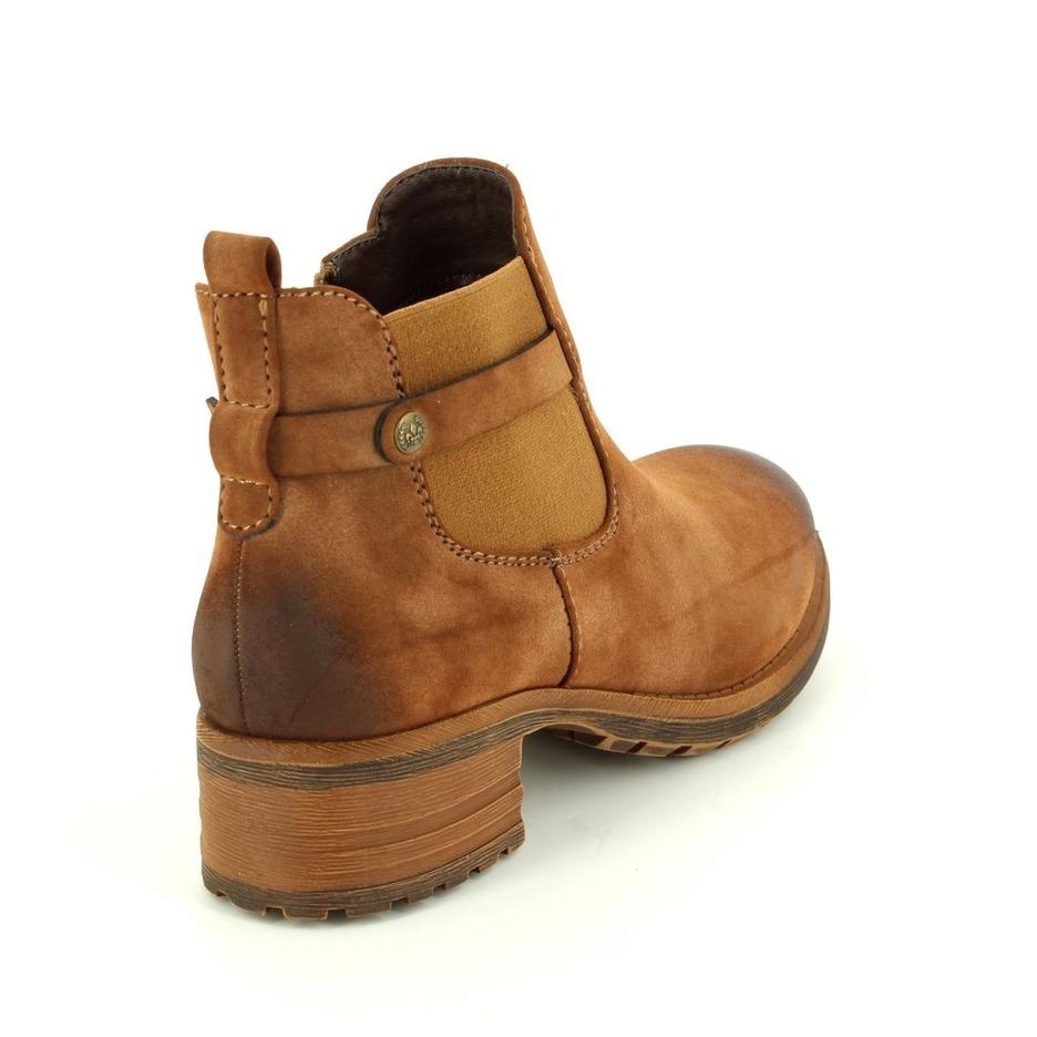 695dd6741702f Soňa - Dámska obuv - Kotníčky - Hnedé členkové topánky na nízkom podpätku