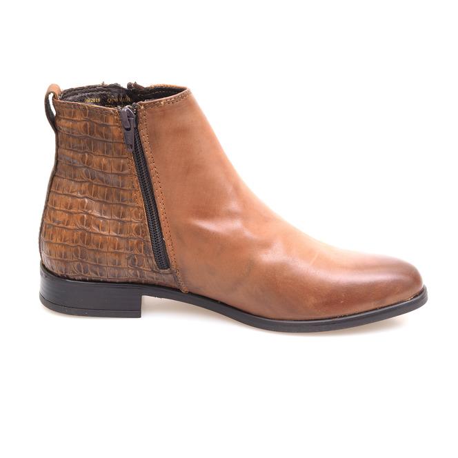 0266cf9e4 Hnedé dámske kotníkové topánky Hnedé dámske kotníkové topánky Výpredaj