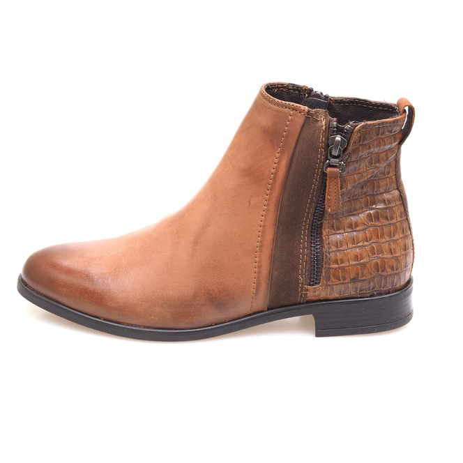e6dbbb899 Hnedé dámske kotníkové topánky ...