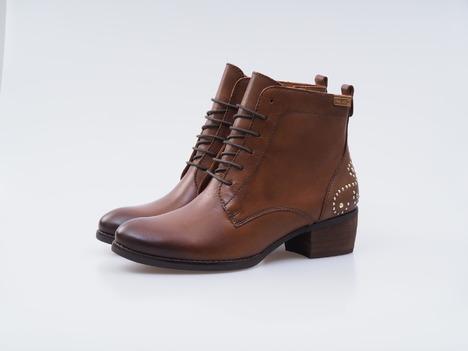 68ae7b49a3d0f Soňa - Dámska obuv - Kotníčky - Hnedé kožené topánky na šnurovanie