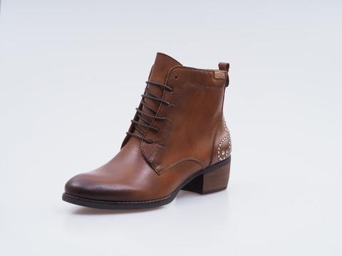 8fa7a87b533b Soňa - Dámska obuv - Kotníčky - Hnedé kožené topánky na šnurovanie