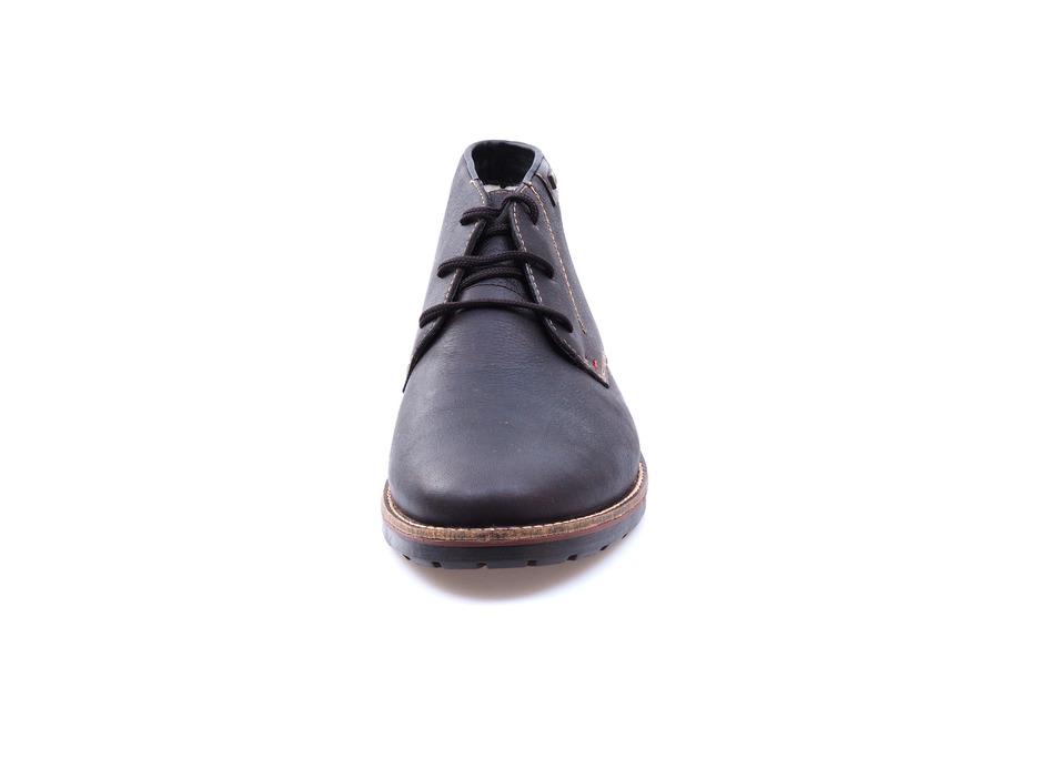 0dc692d5c4 Soňa - Pánska obuv - Zimná - Hnedé kožené topánky Rieker na šnurovanie