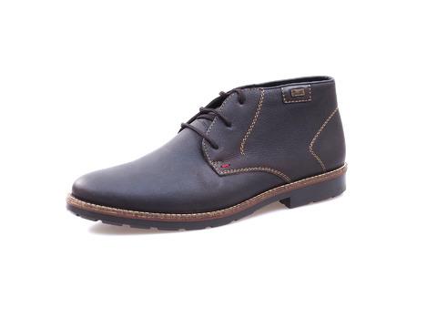 319f68566b Soňa - Pánska obuv - Zimná - Hnedé kožené topánky Rieker na šnurovanie