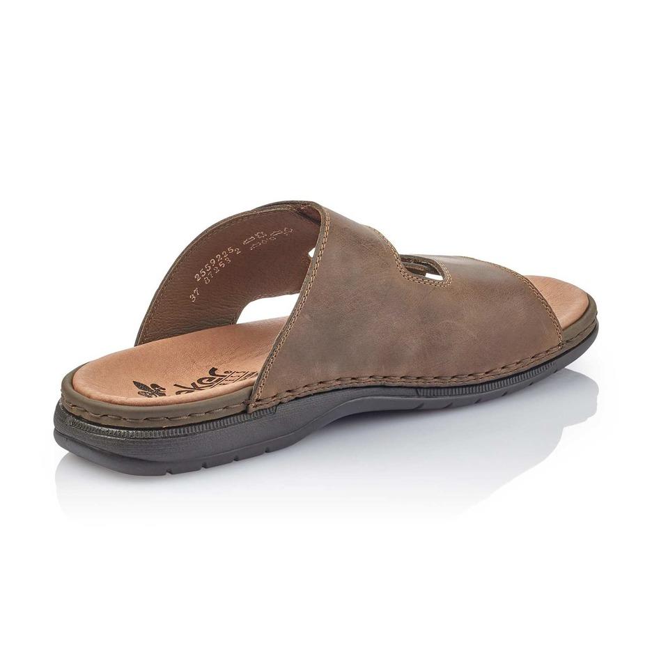 8b07108f5dfa8 Soňa - Pánska obuv - Šľapky - Hnedé pánske šľapky značky Rieker
