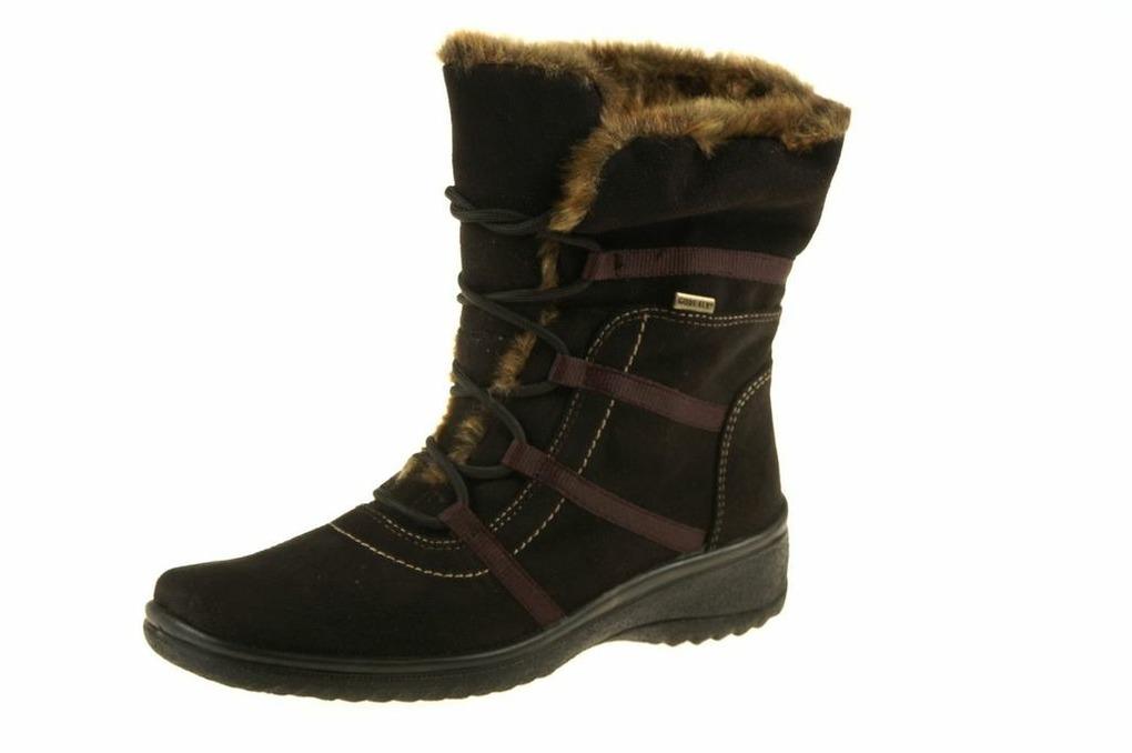 bbcf7f4558 Dámska zateplená zimná obuv Ara s nepremokavou membránou GORE-TEX.