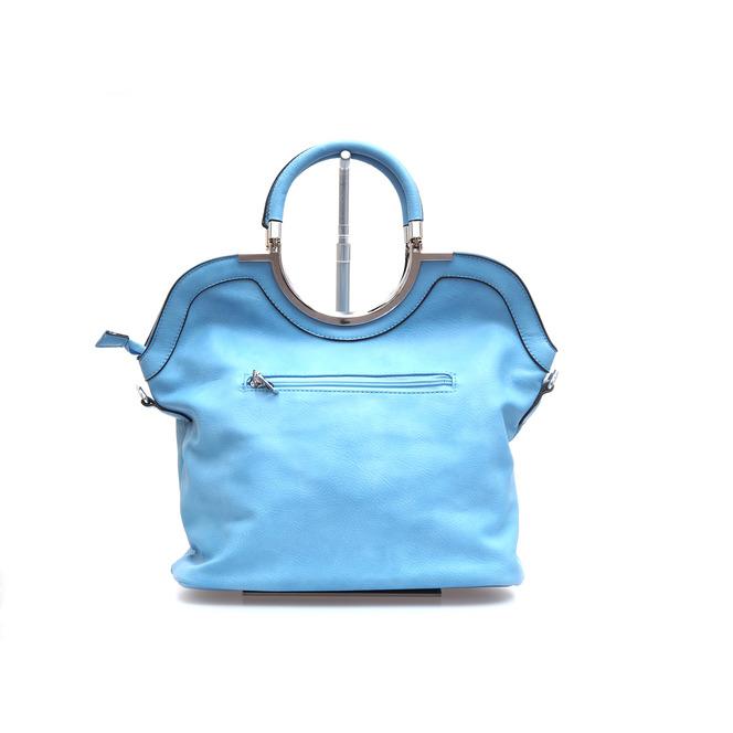 264317a257 Modrá dámska kabelka do ruky Modrá dámska kabelka do ruky Výpredaj