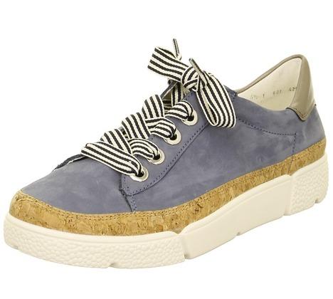 17128500ad4b Soňa - Dámska obuv - Tenisky - Modrá dámska obuv športová-vychádzková  značky Ara