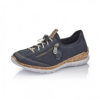 812de05c2a3c4 ... Modrá Dámska obuv športová-vychádzková značky Rieker ...