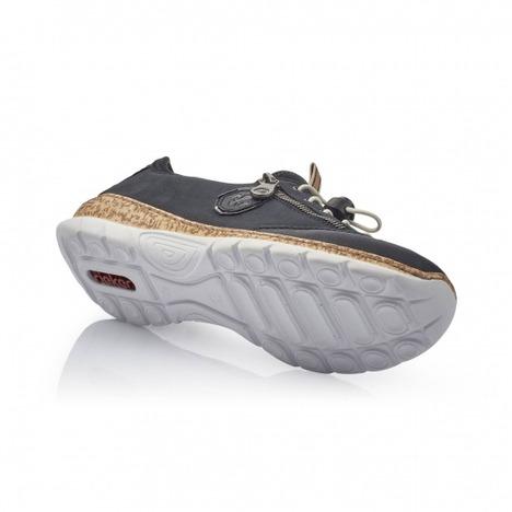 9ce0f70e7 Soňa - Dámska obuv - Tenisky - Modrá Dámska obuv športová-vychádzková  značky Rieker