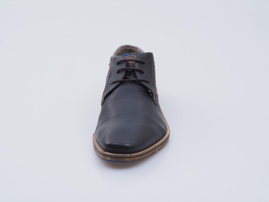 4ca25a802 Soňa - Pánska obuv - Poltopánky - Modrá pánska šnurovacia obuv Bugatti