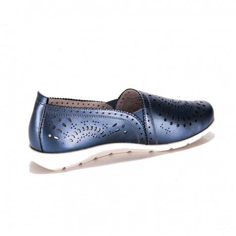 3d00ae238a0f0 Soňa - Dámska obuv - Mokasíny - Modré dámske mokasíny Remonte - Rieker