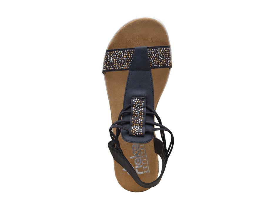 5323608b895a2 Soňa - Dámska obuv - Sandále - Modré dámske otvorené sandále na leto ...