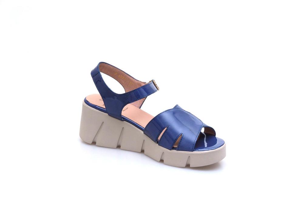 2ce7e0f08a Soňa - Dámska obuv - Sandále - Modré dámske otvorené sandále Wonders