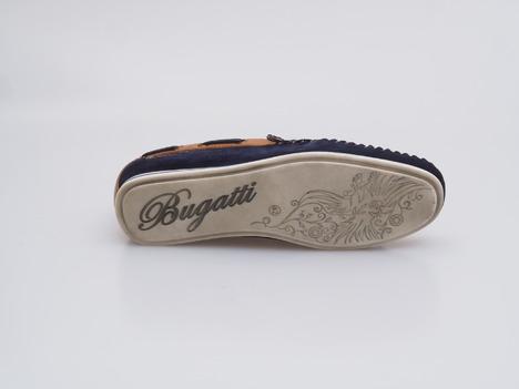 2c82dec33e Soňa - Pánska obuv - Mokasíny - Modré pánske mokasíny značky Bugatti