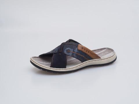 9fa78819b9280 Soňa - Pánska obuv - Šľapky - Modré pánske šľapky na leto Bugatti