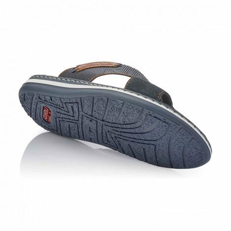 aea7c1a956f54 Soňa - Pánska obuv - Šľapky - Modré pánske šľapky značky Rieker