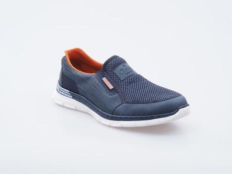 130d73f9aa04 Soňa - Pánska obuv - Tenisky - Modré športové mokasíny Rieker