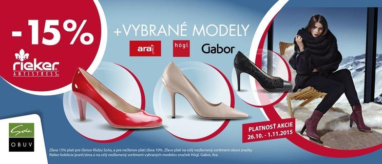 63afe9a4b537 Nakupuj výhodne značkovú obuv so zľavou až 15 %!