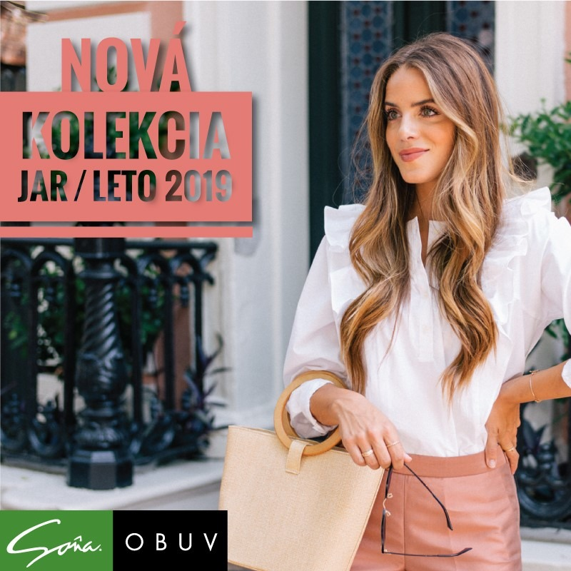 3f1df20d9481 Soňa - Novinky - Nová kolekcia Jar Leto 2019 v obuvi Soňa