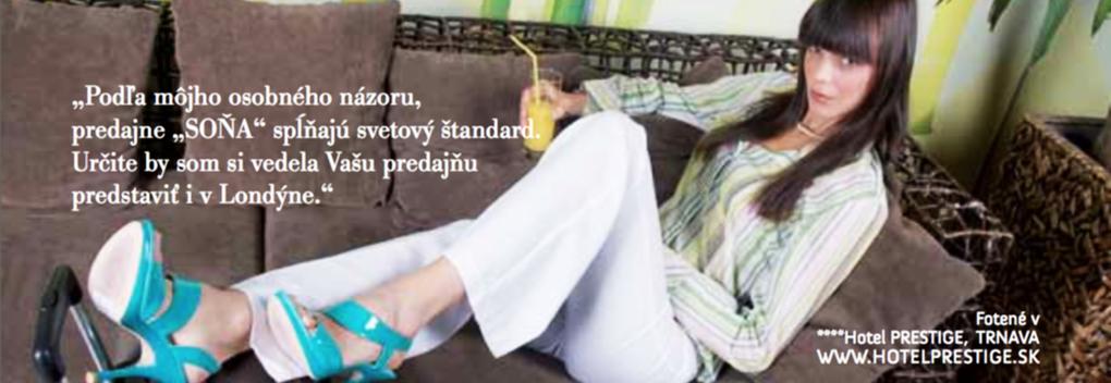 12b6db2d601f Na Slovensko pricestovala nafotiť kampaň značky SOŇA a my využívame  prestávky počas fotenia na otázky