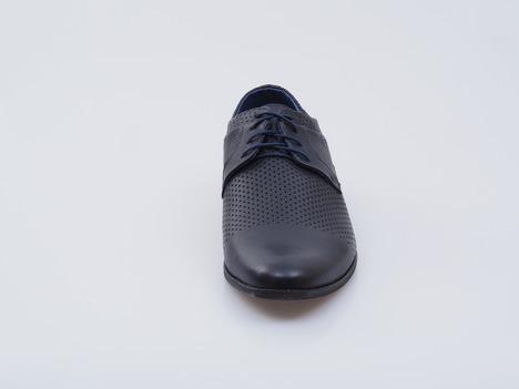 669b810755964 Soňa - Pánska obuv - Poltopánky - Pánska šnurovacia obuv modrá