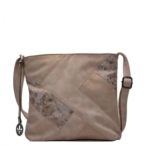 271f3d9587 Soňa - Dámska - Dámske kabelky - Ružová dámska kabelka cez telo (crossby)  Rieker