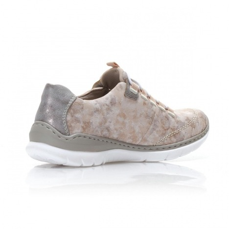 20cf6f998 Soňa - Dámska obuv - Tenisky - Ružová dámska obuv športová-vychádzková  značky Rieker