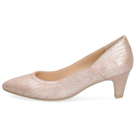 8e2636fac298 Soňa - Dámska obuv - Lodičky - Ružové dámske lodičky na nízkom ...