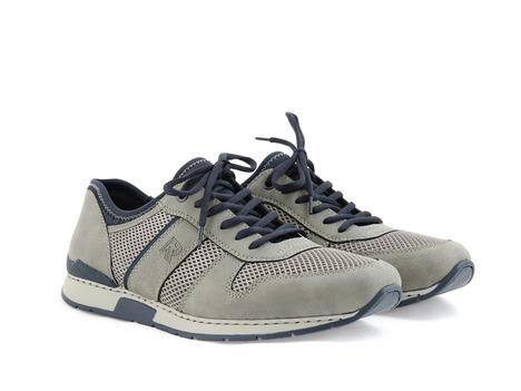 098b11171c876 Šedá pánska športová obuv značky Rieker