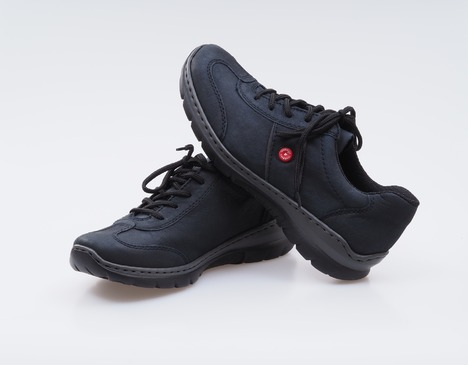 97ce674e95c37 Soňa - Dámska obuv - Tenisky - Šedé kožené športové topánky Rieker