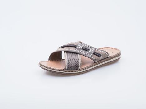 b1c59f24eb084 Soňa - Pánska obuv - Šľapky - Šedé pánske šľapky Rieker