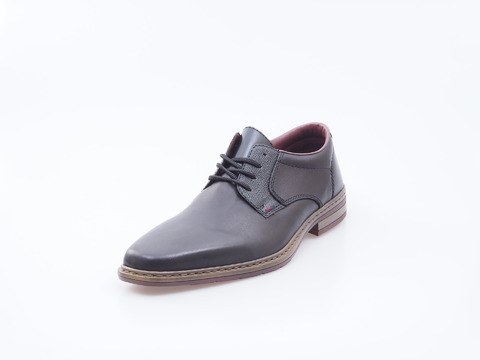 4119dcb3ad243 Soňa - Pánska obuv - Poltopánky - Šnurovacie kožené čierne topánky Rieker