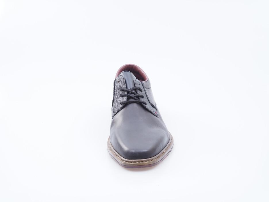 81dc6666d Soňa - Pánska obuv - Poltopánky - Šnurovacie kožené čierne topánky ...
