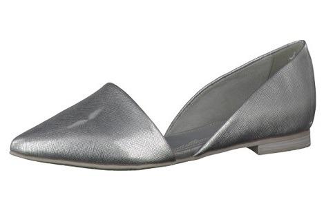 6de679e47a Soňa - Dámska obuv - Baleríny - Strieborné baleríny Marco Tozzi