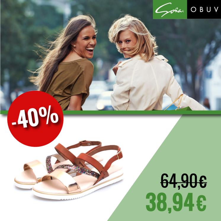 232d500f2145 Štýlové dámske sandále vo výpredaji