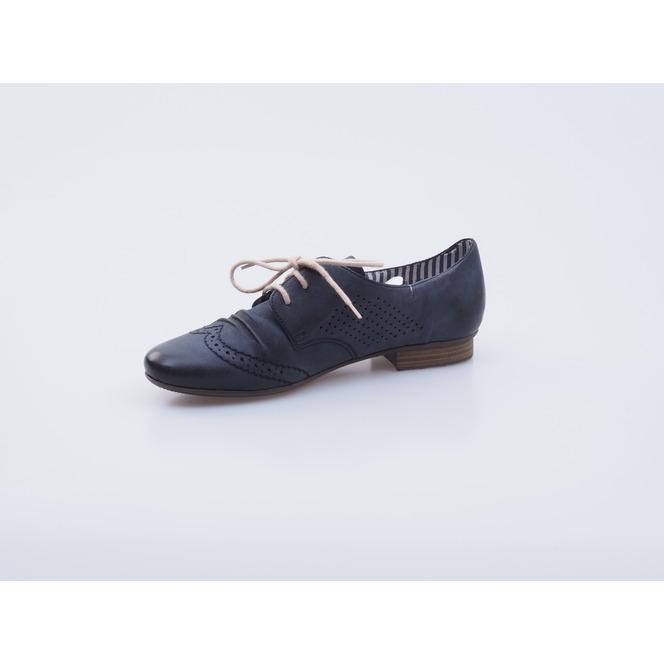 6ab9afc199e0 Tmavomodrá šnurovacia obuv prešívana Rieker Tmavomodrá šnurovacia obuv  prešívana Rieker Popis28