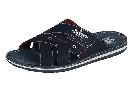 8e1d4c467deb Soňa - Pánska obuv - Šľapky - Tmavomodré pánske šľapky na leto Rieker