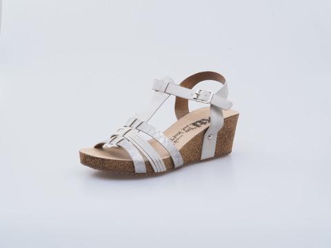 d215d6fb44 Soňa - Dámska obuv - Sandále - Xti dámska otvorená sandála strieborná