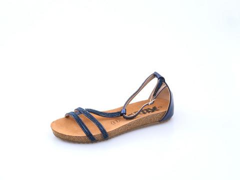 622f80f04147 Soňa - Dámska obuv - Sandále - Xti dámska sandála na nízkom podpätku modrá