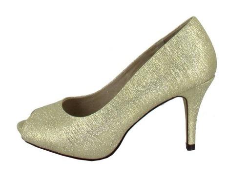 36bb0cc46141 Soňa - Dámska obuv - Spoločenská obuv - Zlaté lodičky s otvorenou špicou