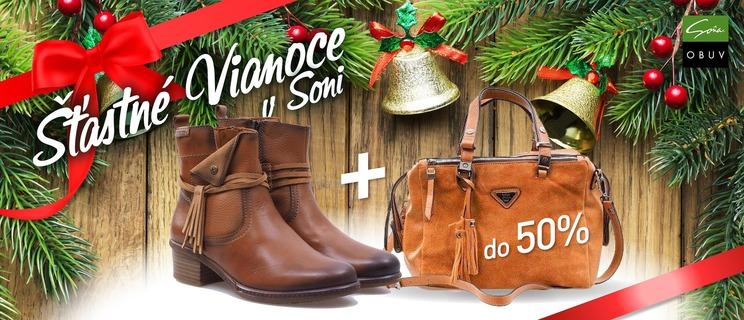 Zľava na obuv - Šťastné Vianoce v Soni! 2cc3b7cf9f9