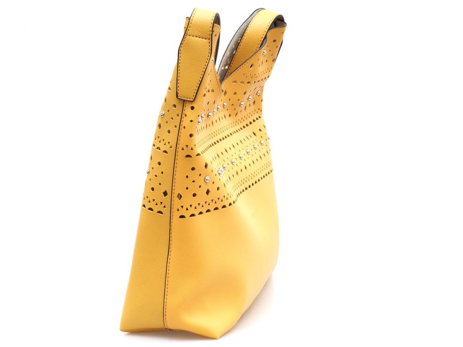 233055030c4e8 Soňa - Dámska - Dámske kabelky - Žltá dámska kabelka cez plece značky Pepe  Moll
