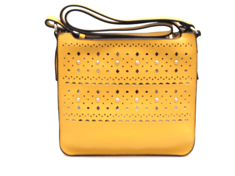 27dd6219115d Soňa - Dámska - Dámske kabelky - Žltá dámska kabelka cez telo (crossby)  značky Pepe Moll